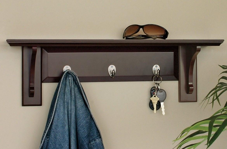 Wood Wall Coat Rack
