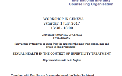 Workshop for Infertility Counsellors in Geneva