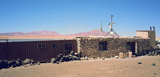 Micro-grids such as this one in Salar de Tara, Chile, are helping to achieve Sustainable Energy For All goals (Photo: Boris Lopicich)