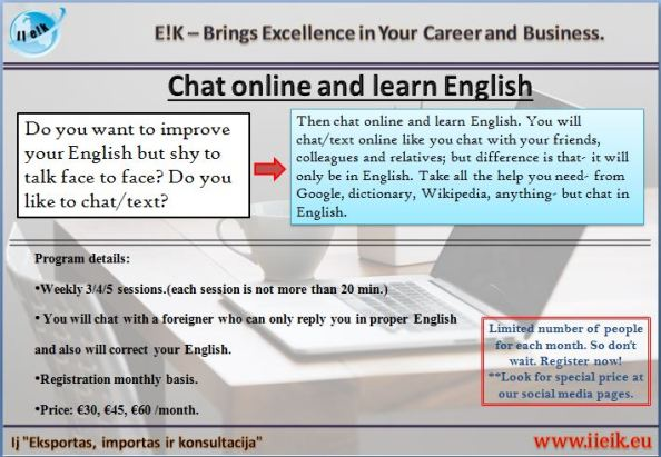 Chat online and learn-en