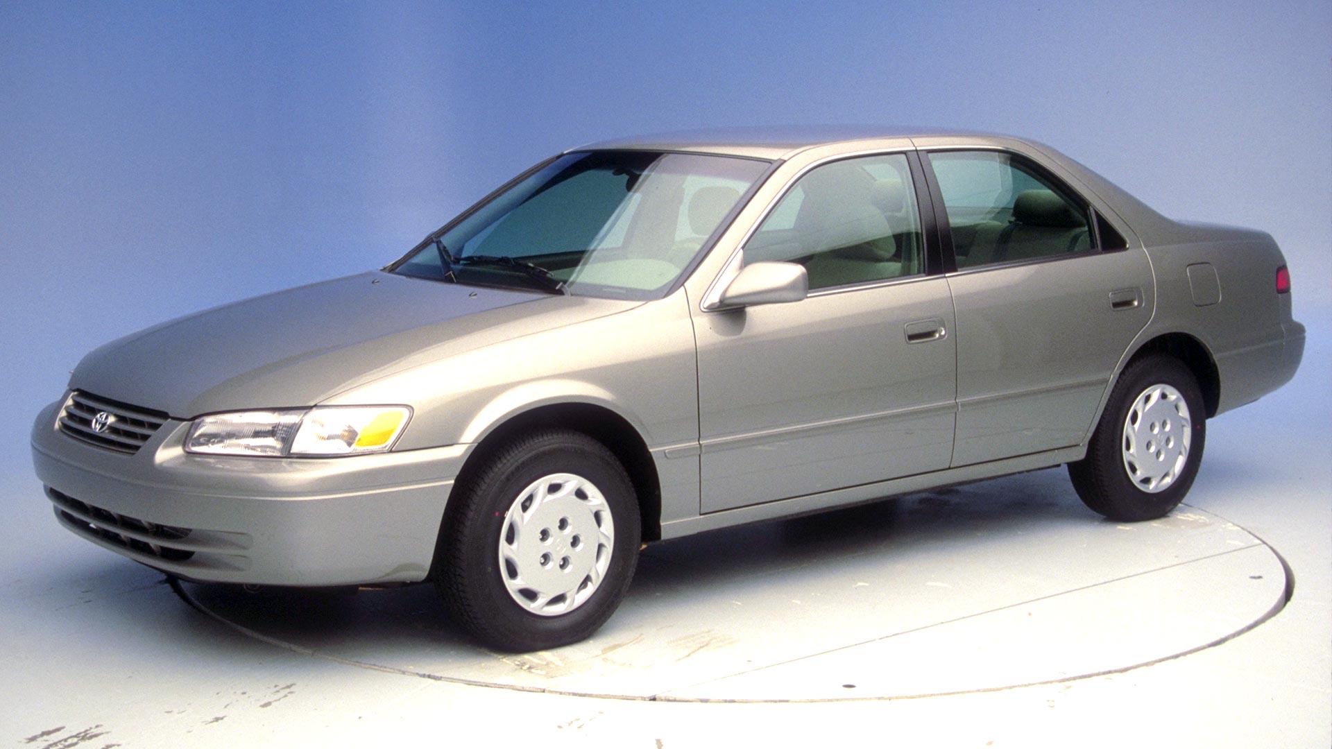 1997 Toyota Camry Belt Diagram