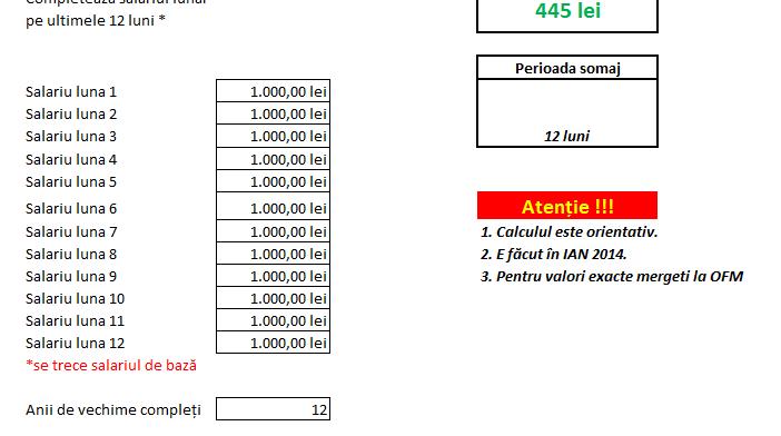 Calculator somaj