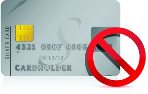 declined Credit Card illustration design