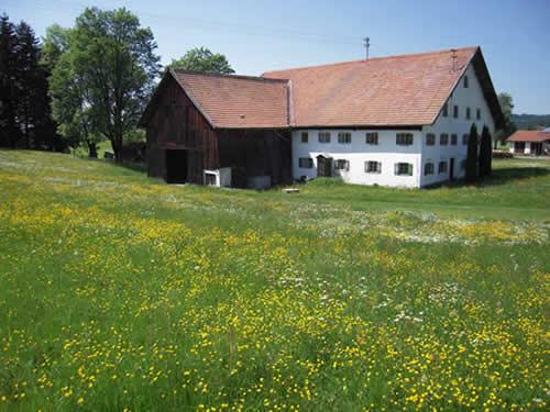 Alter Bauernhof im schnsten Oberbayern mit tollem