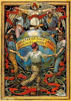 Walter Crane International Solidarity Of Labour 1897