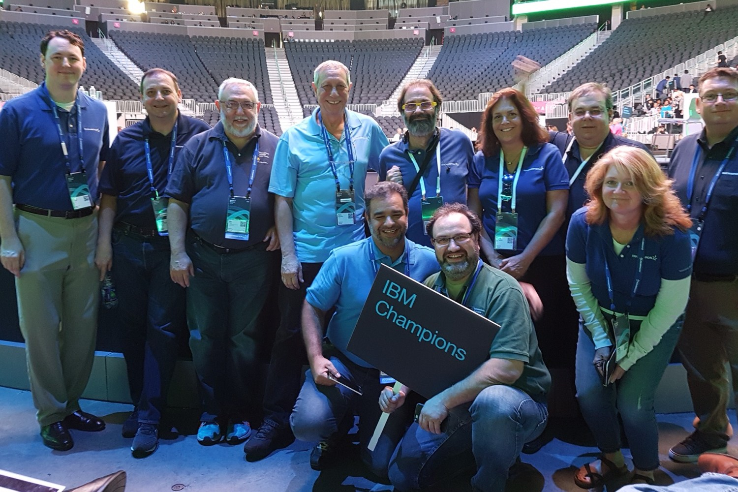 IIUG Board and IBM Champions (for Informix) at WoW (World of Watson) in Las Vegas, NV.