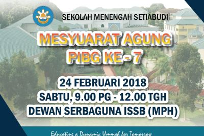 Setiabudi Secondary – 7th PTA General Meeting