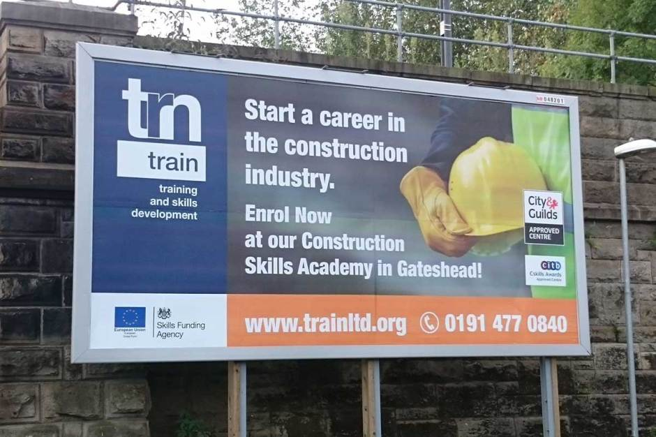 TRN (Train) Gateshead Billboard