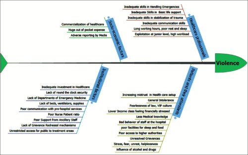 small resolution of figure 2 a fish bone diagram to identify the probable causes of violence against health