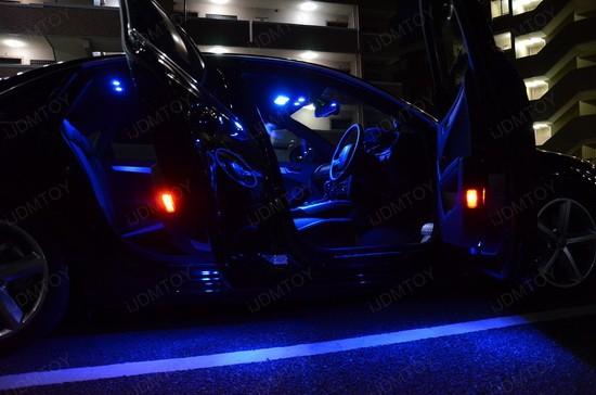 Blue Led Car Lights