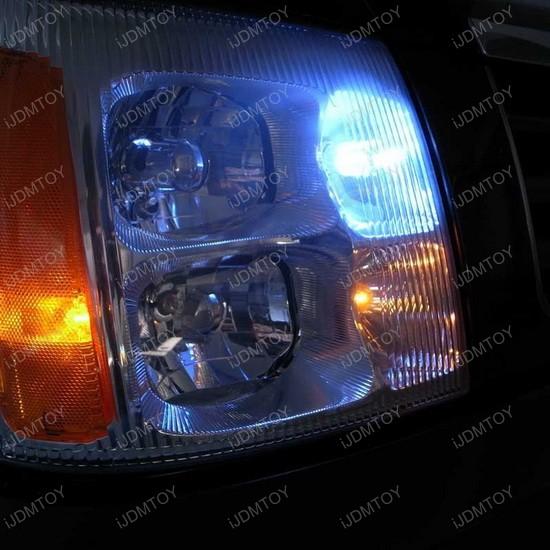 Cadillac Escalade LED Daytime Running Light Bulbs 2