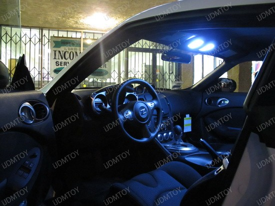 2010 - nissan - 370z - led - interior - lights - 1