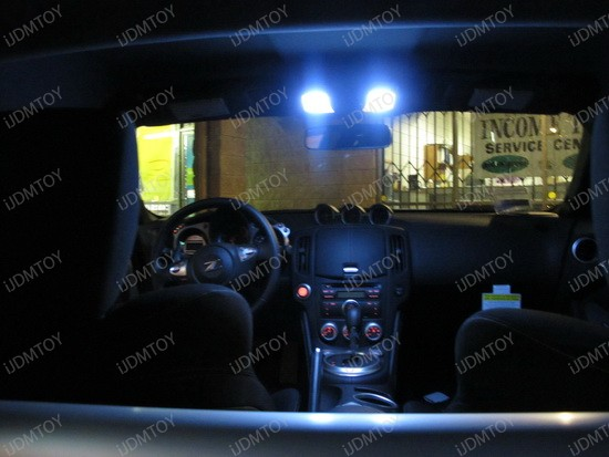 2010 - nissan - 370z - led - interior - lights - 3