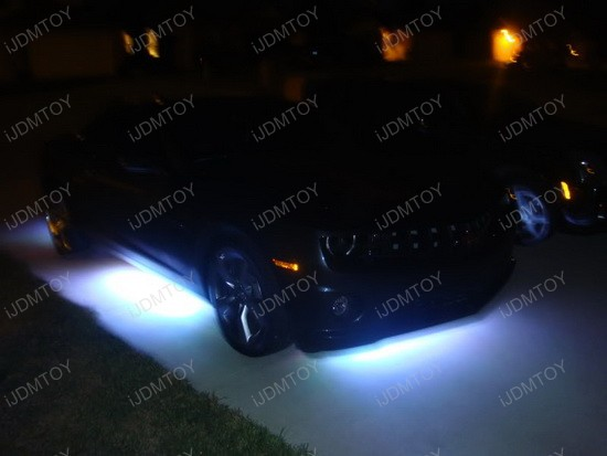2010 - chevy - camaro - rs - led - underbody - kit - 5