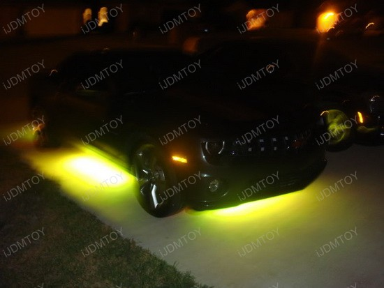 2010 - chevy - camaro - rs - led - underbody - kit - 7