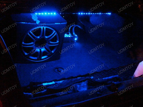 Flexbile LED Strip Lights Chevy Impala LED Interior