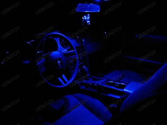 Mustang Red Interior Lights