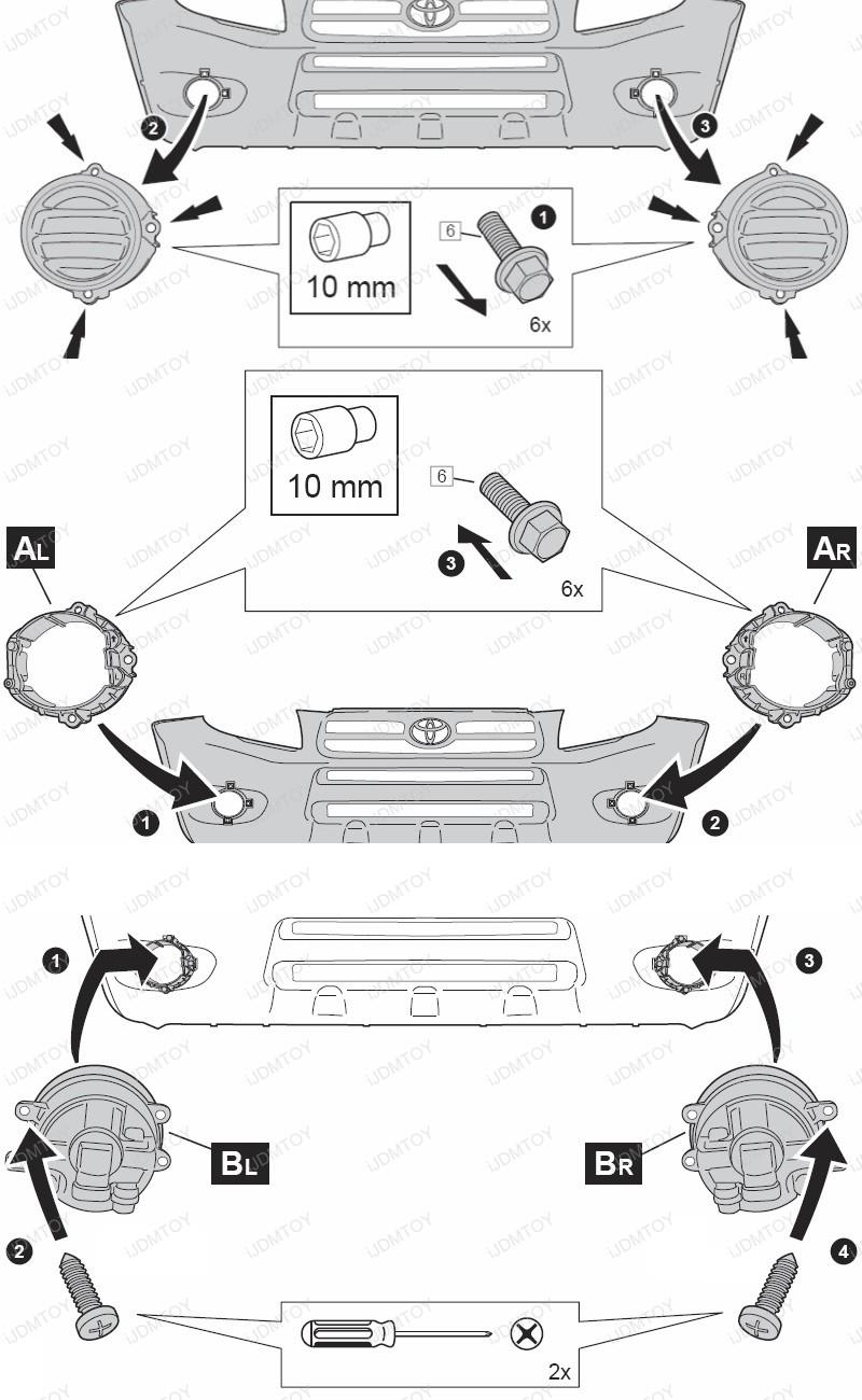 lexus fog lights wiring diagram detailed schematics diagram rh  keyplusrubber com Dodge Fog Light Wiring Harness Fog Light Switch Wiring