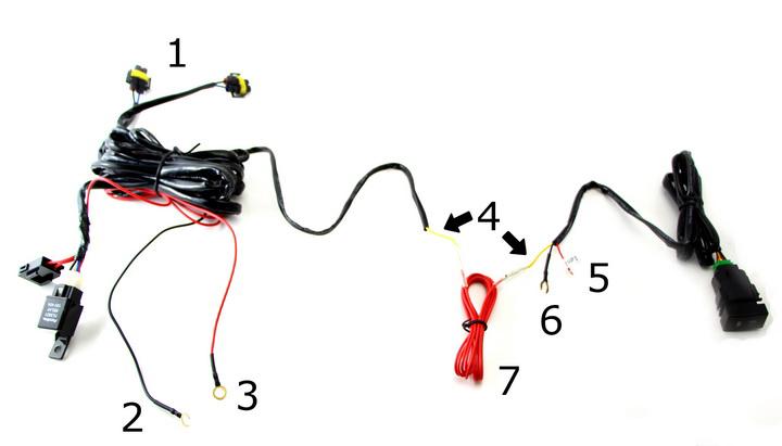 car fog light wiring diagram