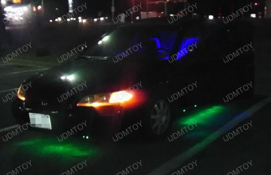 Honda Accord LED Ground Effect RGB Strip Lights 1