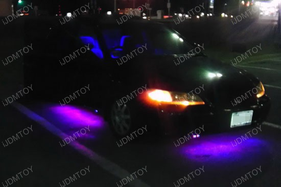 Honda Accord LED Ground Effect RGB Strip Lights 2