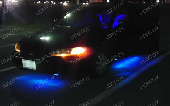 Honda Accord LED Ground Effect RGB Strip Lights 3
