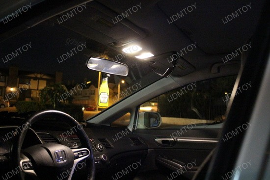 Honda Civic Warm White LED DE3175 1