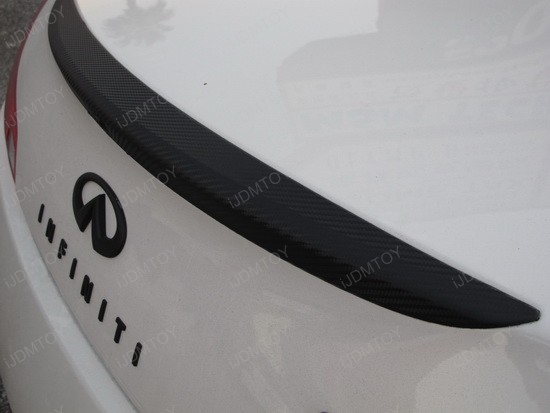 Infiniti G37 Coupe Dry Carbon Fiber Vinyl Sheet 3