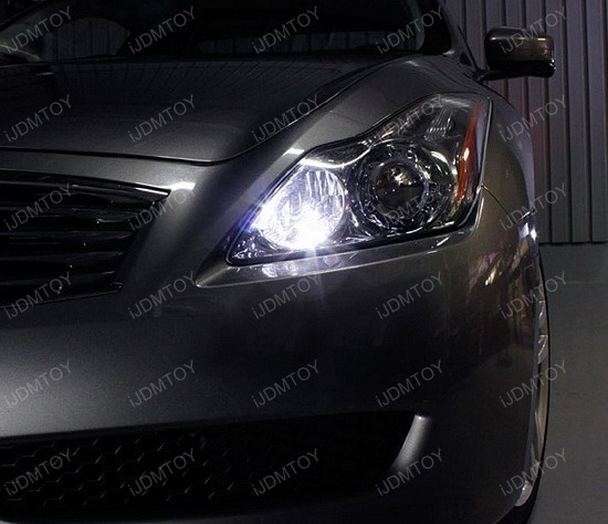 Infiniti G37 168 LED Parking Lights 1