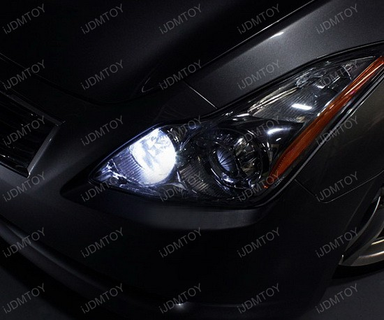 Infiniti G37 168 LED Parking Lights 2