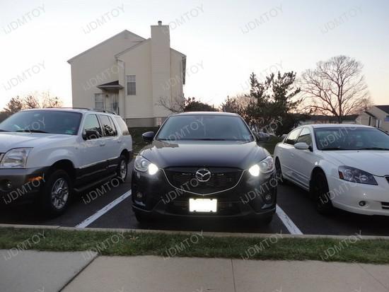 Mazda CX-5 High Beam LED Daytime Running Lights 1