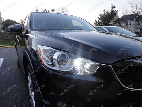 Mazda CX-5 High Beam LED Daytime Running Lights 2