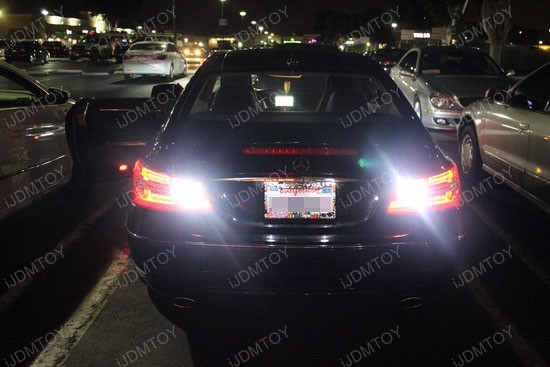 Mercedes-Benz E350 Coupe Error Free 921 LED Reverse Lights 4