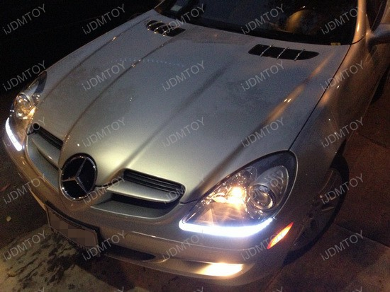 Mercedes-Benz SLK350 LED Headlight Strip 2