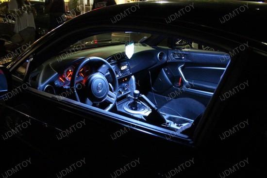 Scion FR-S Direct Fit LED Interior Lights 5