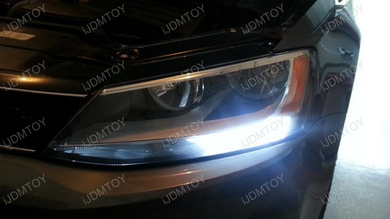 Volkswagen Jetta LED DRL Bulbs 3