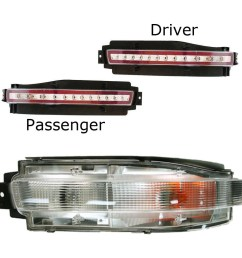 to the picture below to determine which aio led fog light is the left side and which is the right side below is a factory 350z driver side tail light  [ 1000 x 1000 Pixel ]
