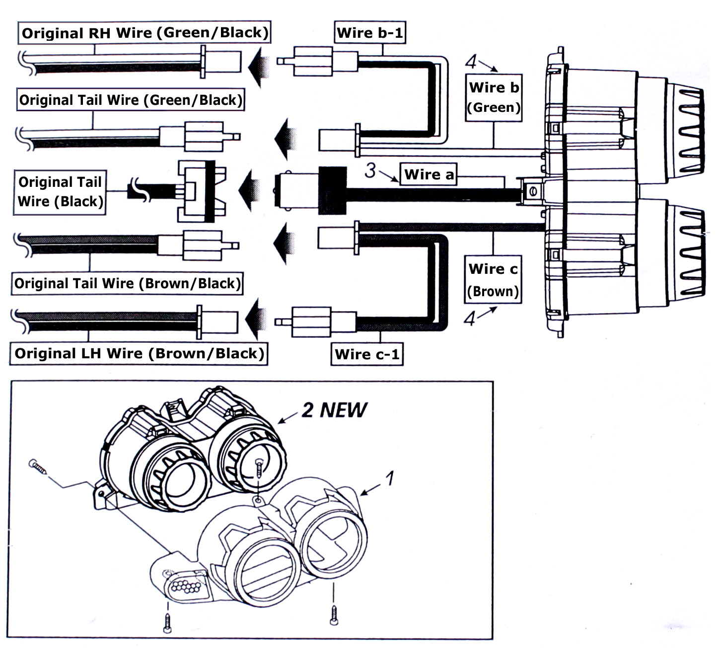 [WRG-3714] Hummer H3 License Plate Light Wiring Diagram