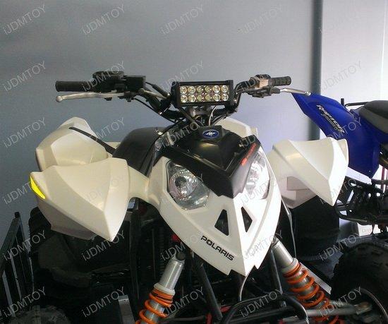 Atv Light Bar Wiring Kit 36w High Power Led Light Bar With Mounting Bracket For Atv