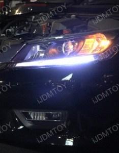 Honda accord led daytime running light retrofit also oem look strips rh store ijdmtoy