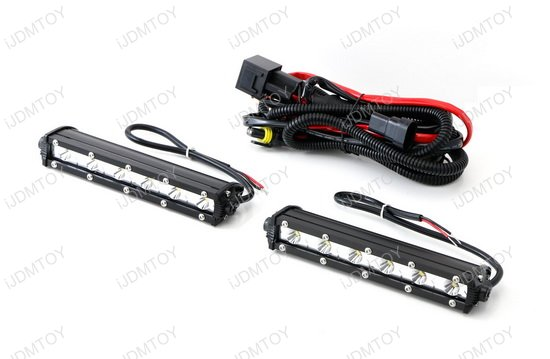 18W High Power CREE LED Daytime Running Light Kit