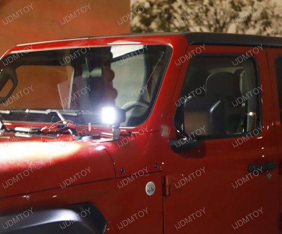 CREE High Power LED Pod Lighting Kit for 2018up Jeep