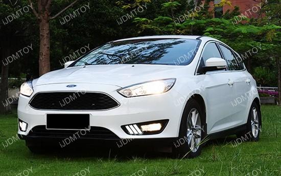 20122014 Ford Focus High Power Led Daytime Running Lights