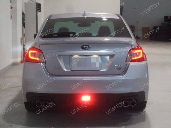 Led Backup Lights Wiring Subaru F1 Style Rear Fog Lights Subaru Wrx Jdm Led Rear