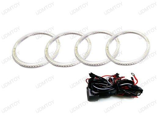 7000K White LED Angel Eye Halo Rings for 2007 2008 Acura TL