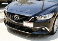No Hole Tow Hook License Plate Mount For Mazda3 Mazda6 CX5