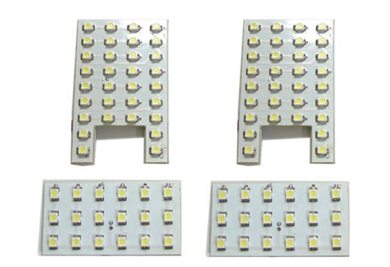 Direct Exact Fit LED Panel Lights Interior Package