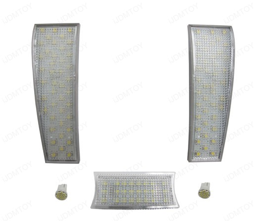 5 PCS Lights Direct Exact Fit 128-SMD Complete LED Interior Package