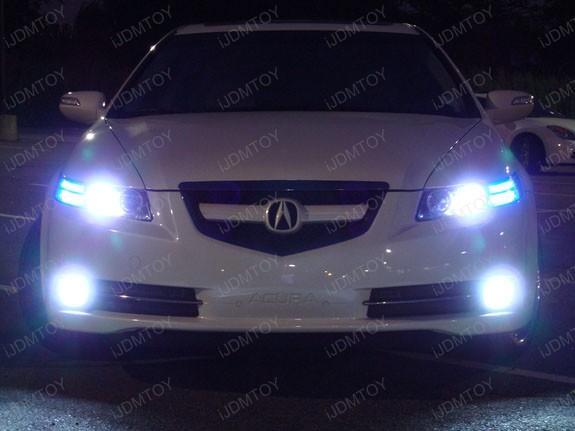 White Ultra Headlight Bulbs