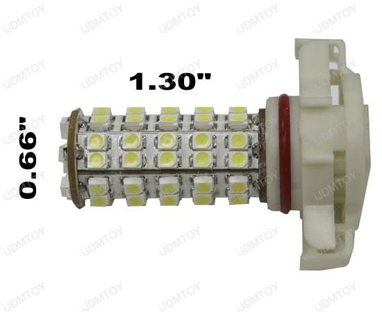 68-SMD 1210 5202 (aka H16) LED Bulbs